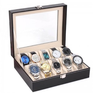Luxury Display Box for 12 Watches or Bracelets