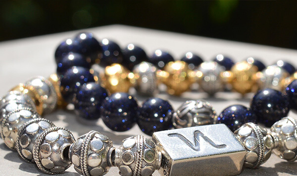 Custom Silver and Gold Bracelets