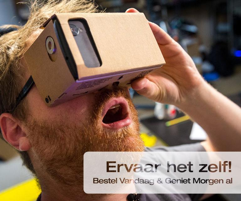 Gigantische ervaring met de 3dUltra Cardboard